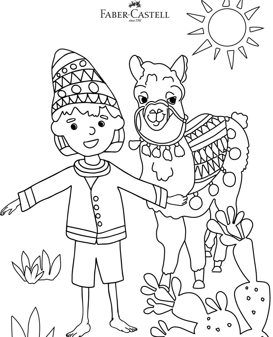 Children of the world short stories and colouring