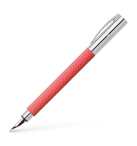 Faber-Castell - Fountain pen Ambition OpArt Flamingo, medium