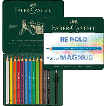 Faber-Castell - Albrecht Dürer Magnus watercolour pencil, tin of 12