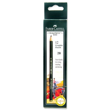 Faber-Castell - Graphite pencil Castell 9000 2B