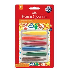 Faber-Castell - First Grip Crayons Set of 6