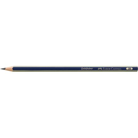Faber-Castell - Goldfaber 1221 graphite pencil, 2B