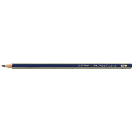 Faber-Castell - Goldfaber 1221 graphite pencil, 6B