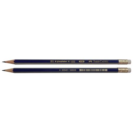 Faber-Castell - Goldfaber graphite pencile with eraser, HB