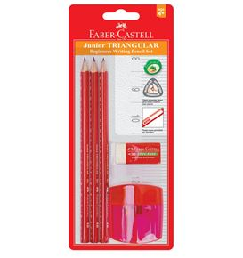 Faber-Castell - Graphite pencil junior triangular, blister card