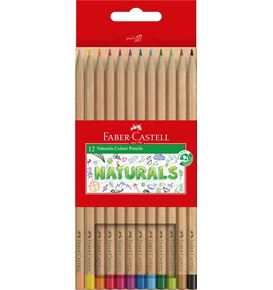 Faber-Castell - Naturals Colour Pencils Pack of 12