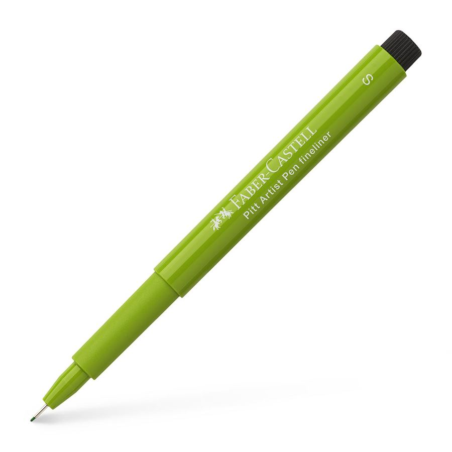 Faber-Castell - Pitt Artist Pen Fineliner S India ink pen, may green