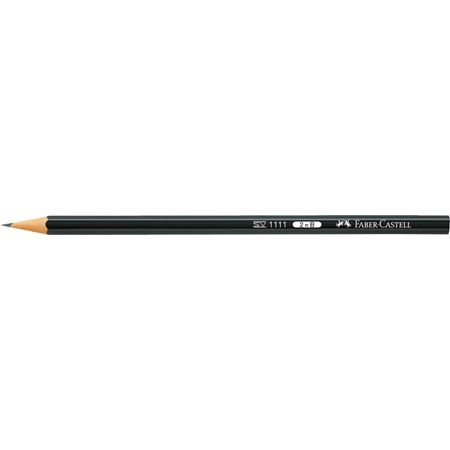 Faber-Castell - 1111 graphite pencil, 2B